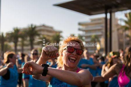Zumba masterclass Salou 2017; bailando contra el cancer