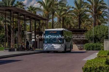 autobuses de salou plaza comunidades autonomicas paseo 2