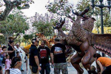 Nit del Foc Cambrils Fiesta Mayor Virgen del Camí
