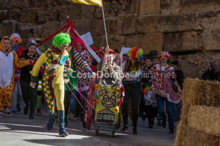 Bajada del pajaritu 2018. Carnaval de Tarragona.