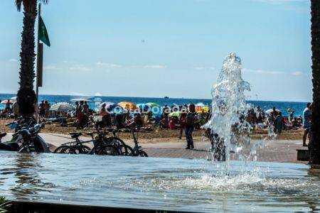 Playa de Llevant, junto al Paseo Jaume I