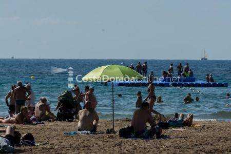 Playa mas extensa de Salou