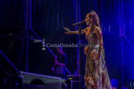 India Martínez en concierto, Nits Daurades Salou 2017