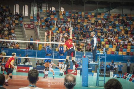 Juegos mediterraneo Tarragona 2018, final voley masculino