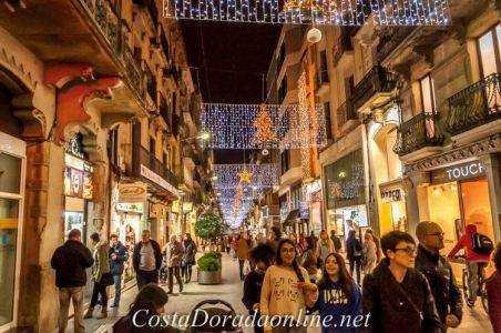 Navidad en las calles de Reus