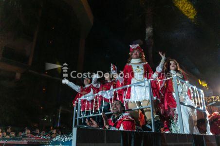 Coso Blanco Salou 2018, fiesta de invierno