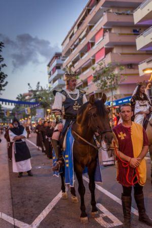 Salou, Fiesta del Rey Jaume I, 2018.