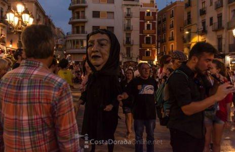 Sant Magí Tarragona 2018. Fin de la procesión de Sant Magí