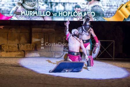 Tarragona Historia Viva 2017; anfiteatro romano de Tarragona