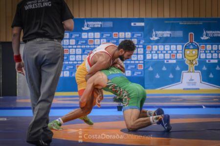 Juegos mediterraneo Tarragona 2018, Vilaseca, eliminatorias grecoramana