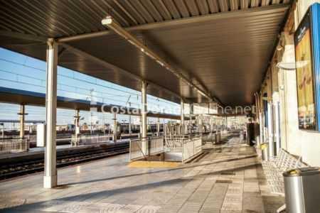 Trenes de Tarragona; estacion renfe