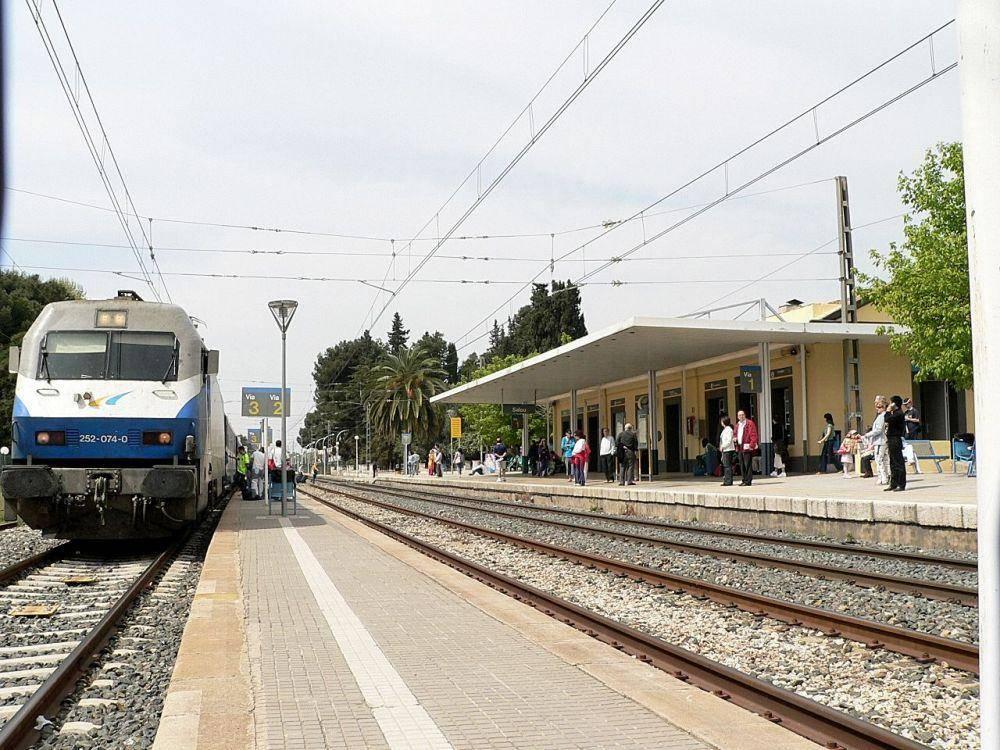 Estación de trenes de Salou