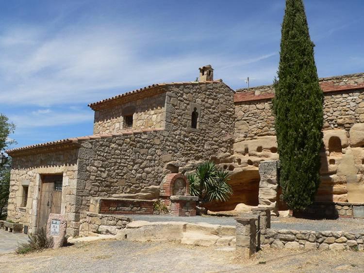 pueblo Albarca Pla del Castell