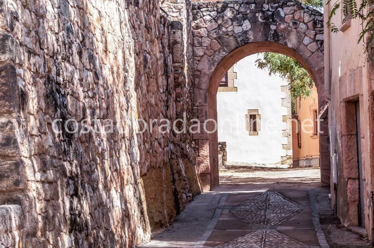 pueblo Altafulla Muralla