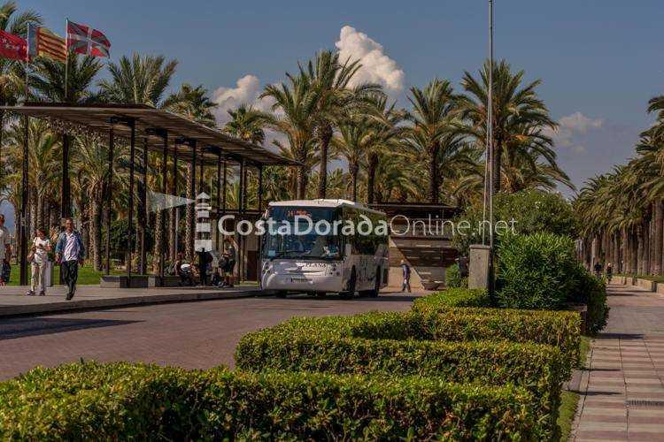Estación de Autobuses de Salou; autobuses de salou plaza comunidades autonómicas