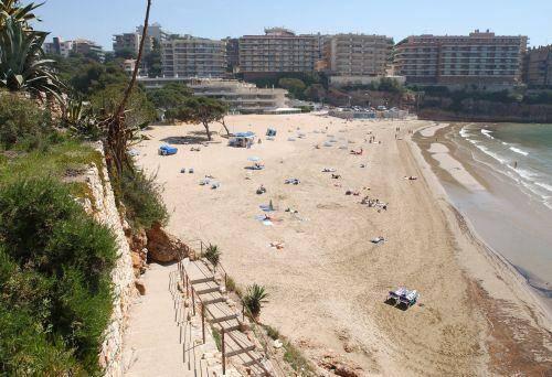 Playa dels Capellans en Salou