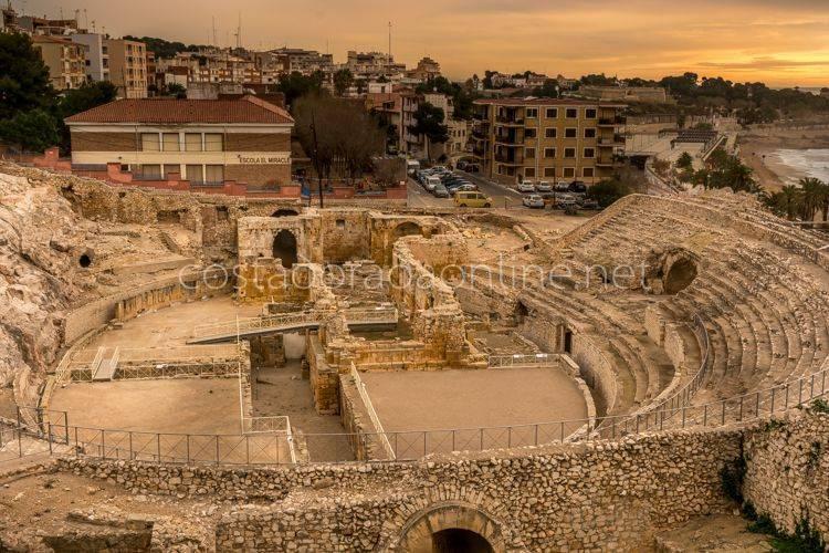 anfiteatro de tarragona arqueologia de tarragona