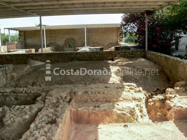 Vila Romana de Centcelles Constantí Mausuleo interior