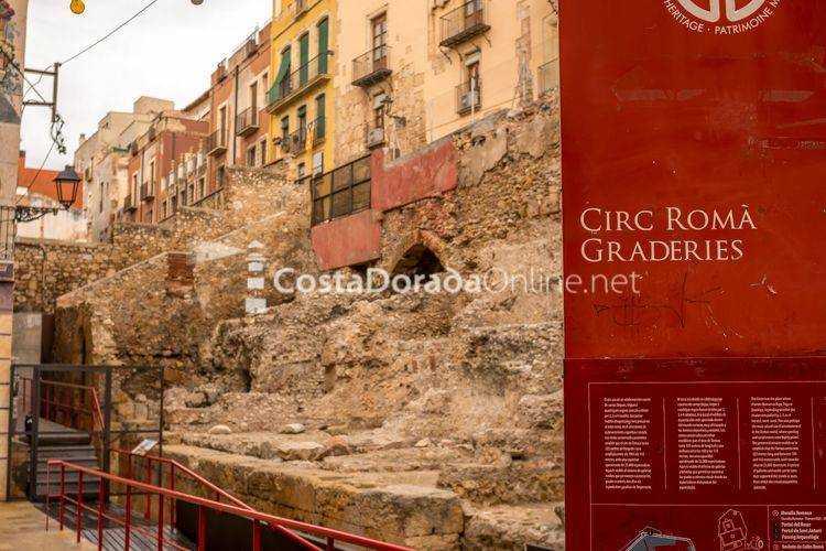 graderies circo romano y pretorio de tarragona