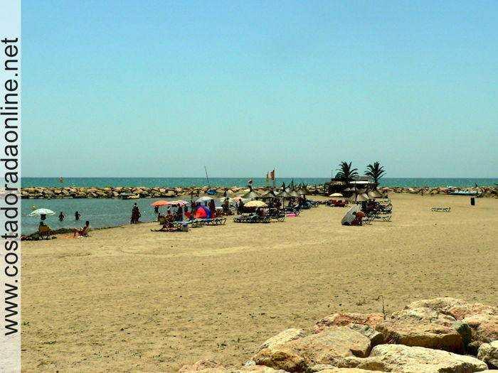Playa de l'Ardiaca de Cambrils