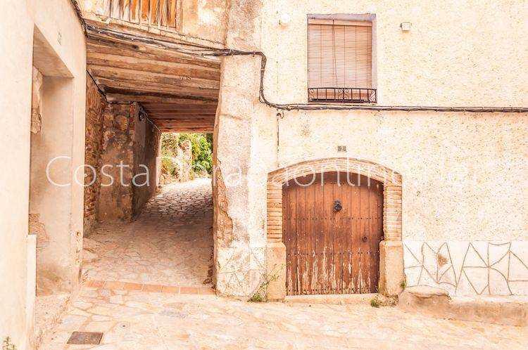 pueblo Miravet Casco Antiguo