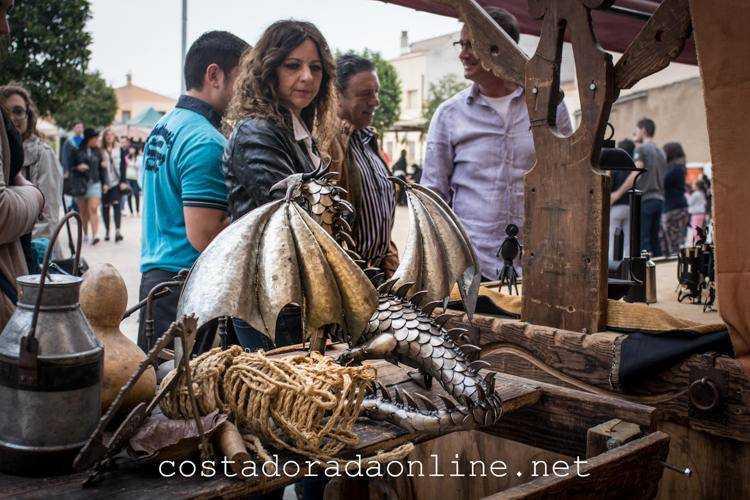 pueblo Montblanc Mercado Medieval