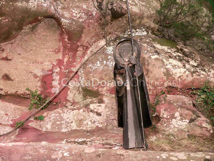 Mont-roig Ermita de Mare de Deu de la Roca Figura