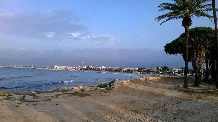 Playa del Regueral de Cambrils