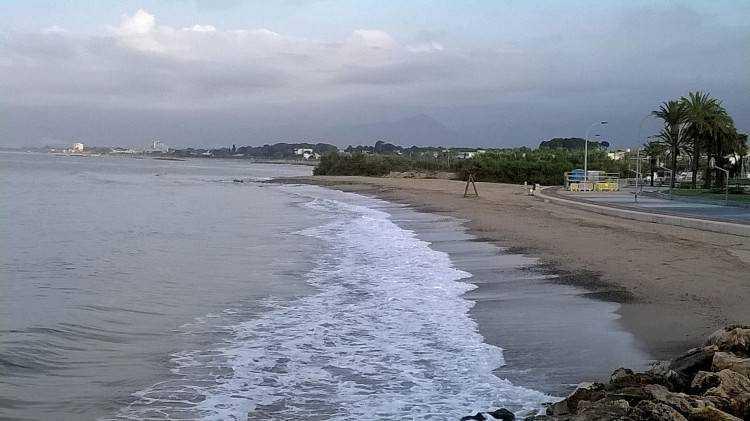 Playa de la Riera de Cambrils