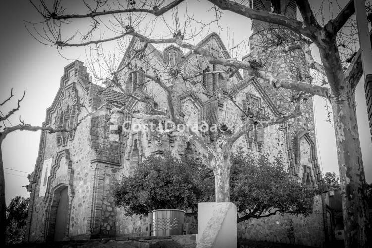 pueblo Les Borges del Camp Ermita Mare de Déu de la Riera