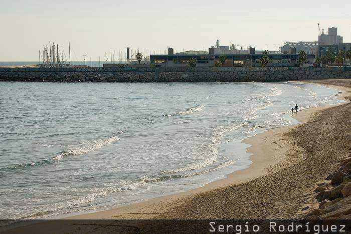 Playas de Tarragona. Playa del Miracle