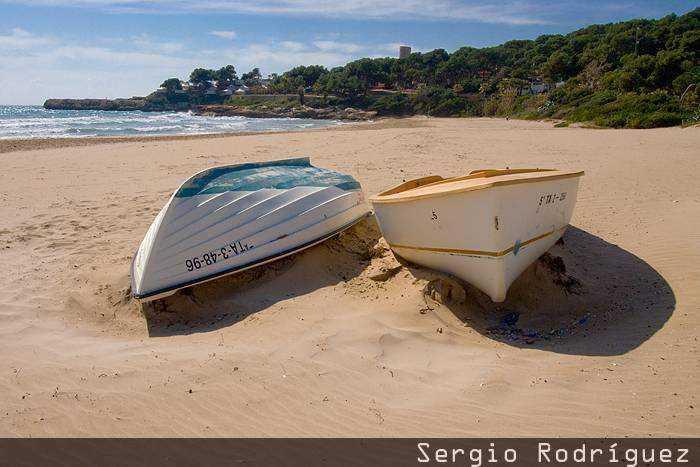 Playa de La Mòra; Playas de Tarragona. Playa de la Mora