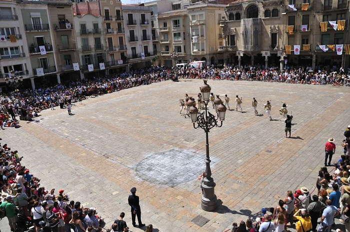 Fiesta Mayor de Sant Pere en Reus