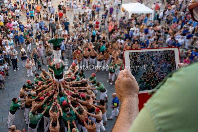 Fiestas de Sant Pere de Reus, plaza Mercadal