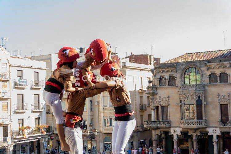 Fiesta mayor Sant Pere, diada Castellera