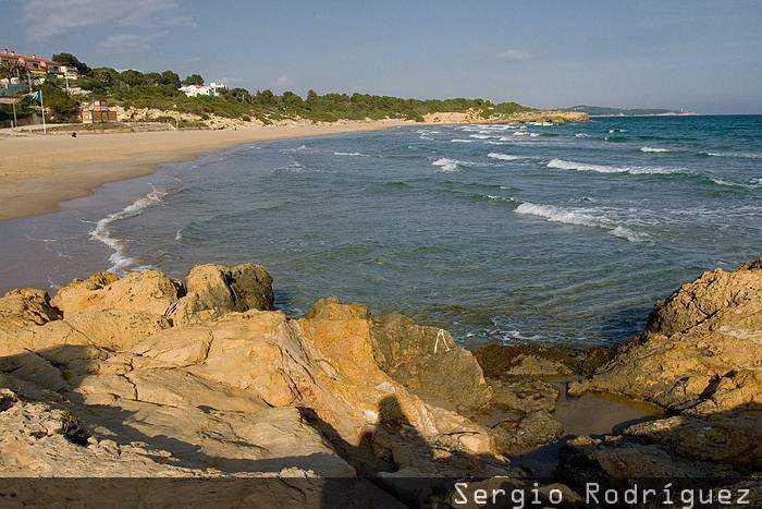 Playas de Tarragona. Playa de Els Capellans