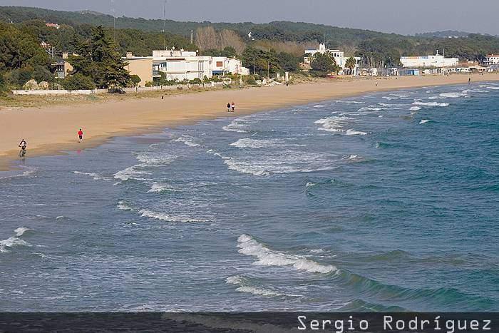 Playas de Tarragona. Playa Larga