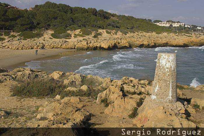 Playas de Tarragona. Playa de la Savinosa