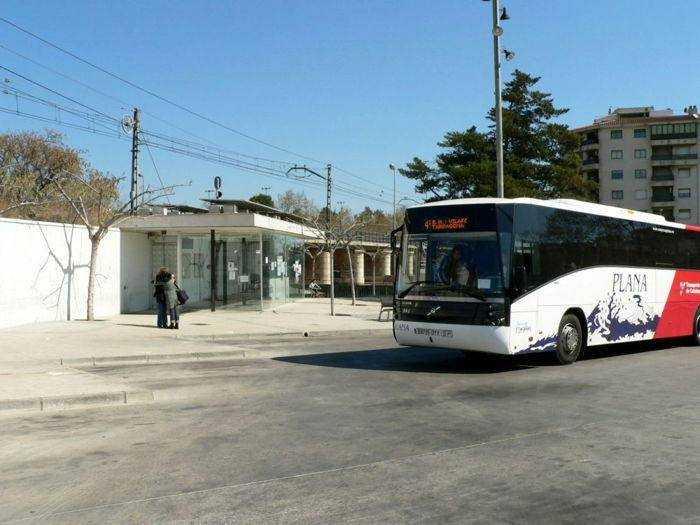 Estación de autobuses de Cambrils