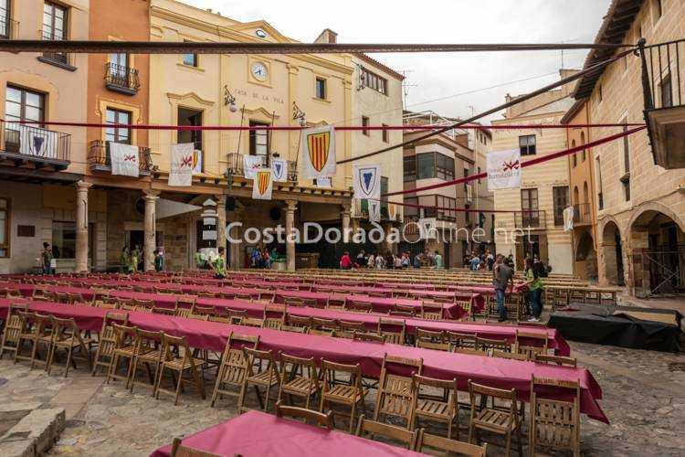 alcover, plaza del ayuntamiento