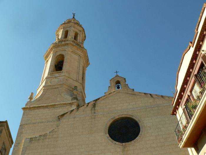 pueblo Alforja Iglesia