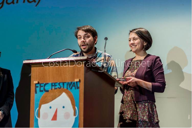 "Festival FEC; FEC 2016, premio 2º Mejor Cortometraje ""Getting Fat"" de Kervork Aslanyan"