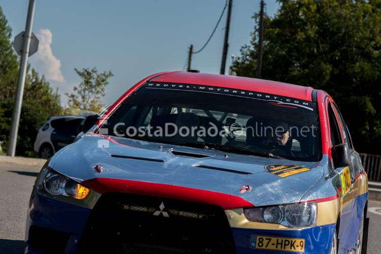 Rally Cataluña;Salou Rally Costa Dorada 2016 Mitsubishi Lancer Evolution