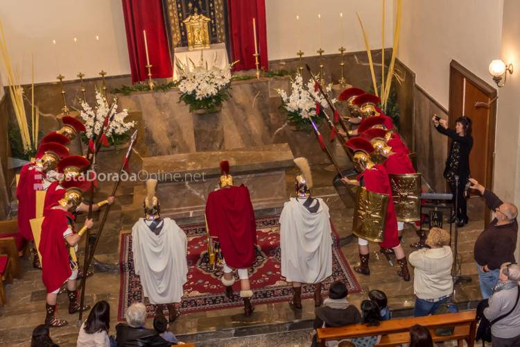 Semana Santa Tarragona Cambio de Guardia