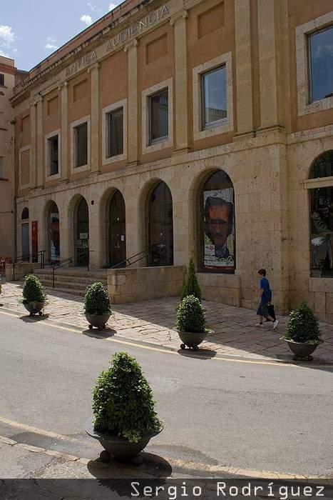 Lugares de interés de Tarragona. Antigua Audiencia.