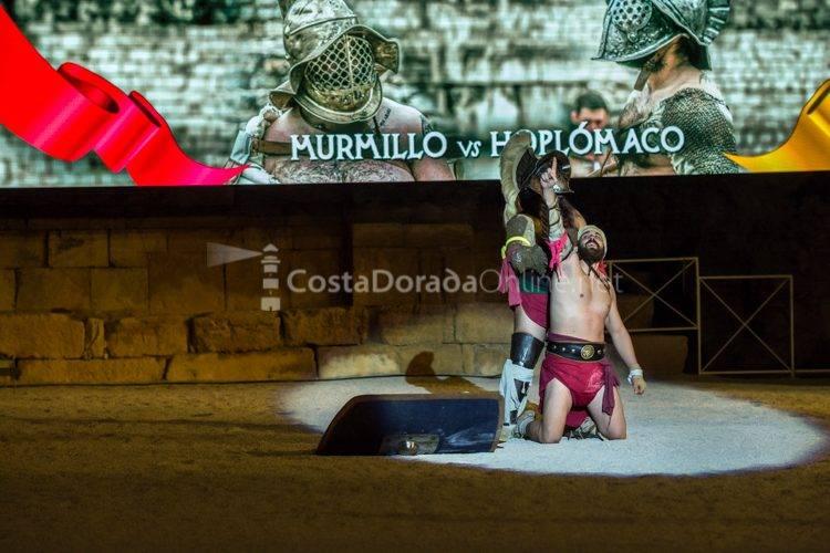 tarragona historia viva anfiteatro ludus 2017