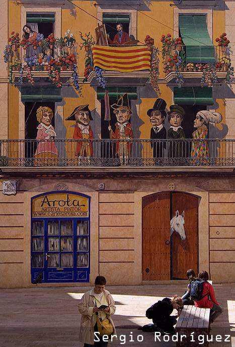 Lugares de interés de Tarragona. Plaza dels Sedassos.