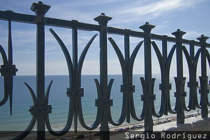 Tarragona Modernista. Barandilla del Balcon del Mediterraneo
