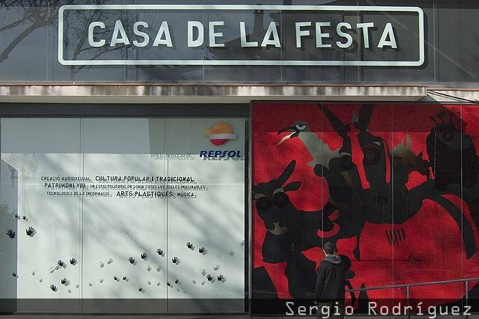Casa de la Festa; Lugares de interés de Tarragona. Casa de la Festa