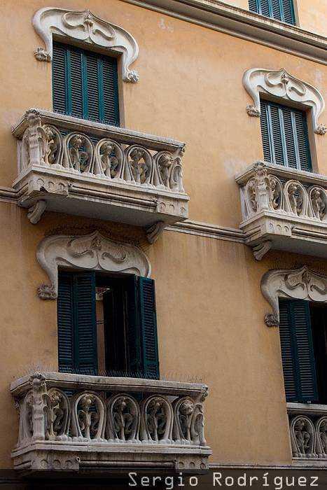 Tarragona Modernista. Viejo Hotel Continental